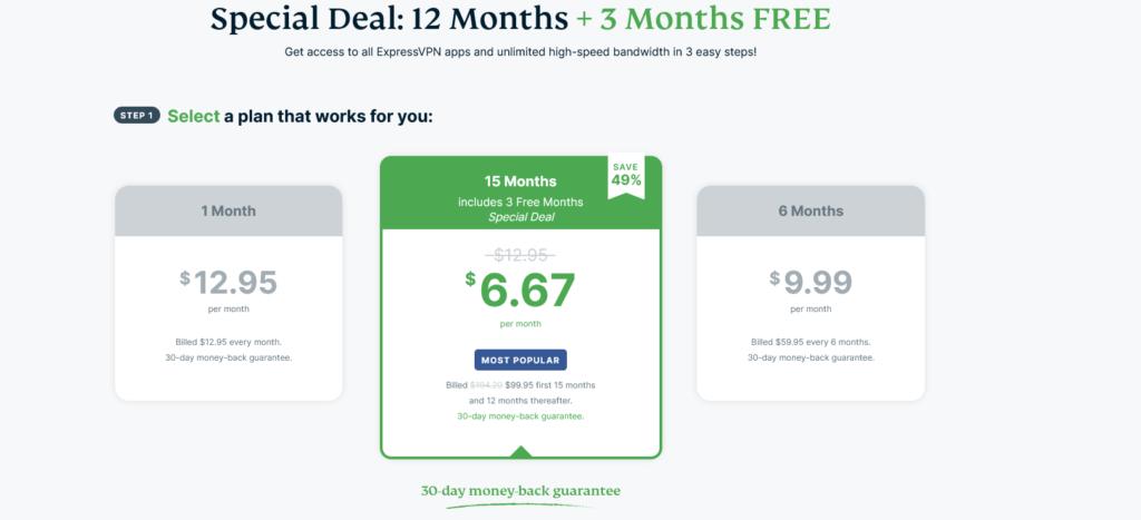 1. ExpressVPN Black Friday Deals and Discount